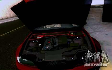 BMW M3 Cabrio para GTA San Andreas interior