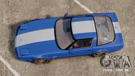 Chevrolet Corvette C4 1996 v2 para GTA 4 vista direita