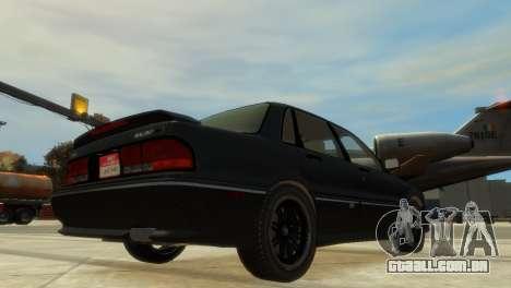 Mitsubishi Galant para GTA 4 vista direita