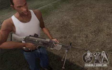 Arma militar para GTA San Andreas segunda tela
