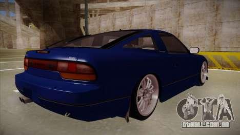 Nissan 240sx JDM style para GTA San Andreas vista direita