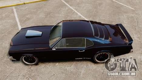 A nova versão do GT Sabre para GTA 4 traseira esquerda vista