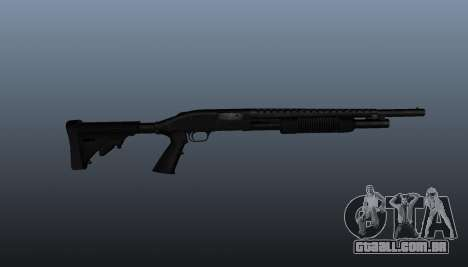 M590A1 shotgun da bomba-ação para GTA 4 terceira tela