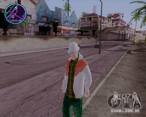 Maccer HD para GTA San Andreas segunda tela