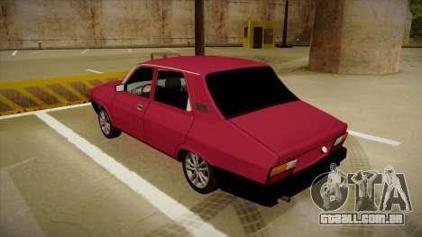 Dacia 1310 Berlina Tuning para GTA San Andreas vista traseira