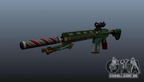 HK417 rifle v3 para GTA 4