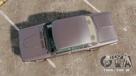 Volga GAZ-2410 v2 para GTA 4 vista direita
