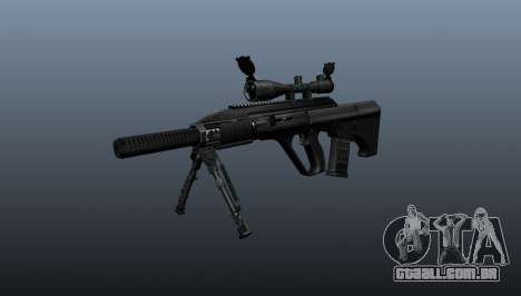 Automatic rifle Steyr AUG3 para GTA 4