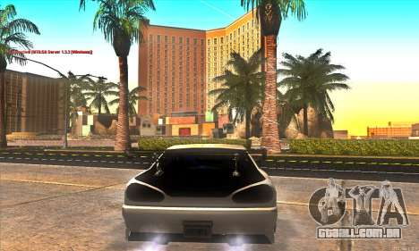 Elegy Drift Concept para GTA San Andreas vista inferior