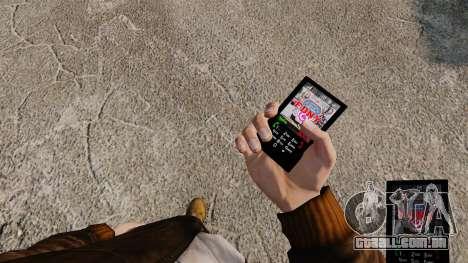 Temas para serviços de telefone, Nova Iorque para GTA 4