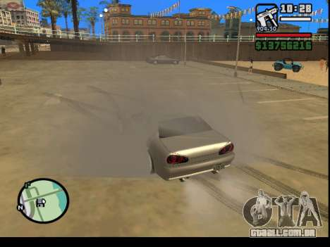 GTA V to SA: Burnout RRMS Edition para GTA San Andreas segunda tela