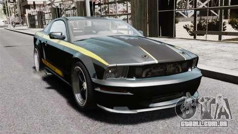 Shelby Terlingua Mustang para GTA 4 vista direita