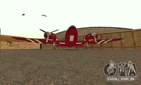 Rustler GTA V para GTA San Andreas vista interior