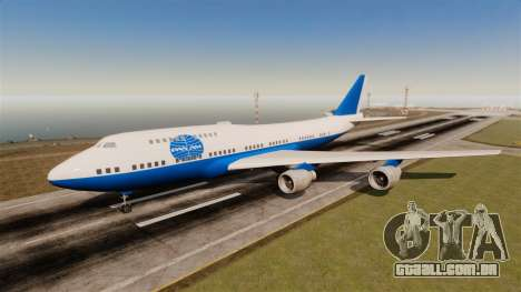 O companhia aérea Pan Am para GTA 4 sexto tela