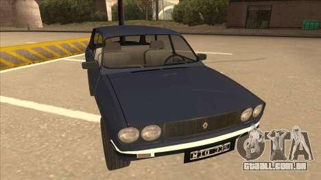 Renault 12 Break para GTA San Andreas esquerda vista