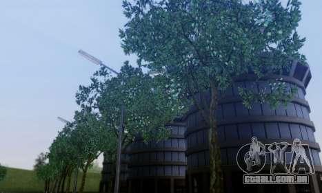 Nova vegetação 2013 para GTA San Andreas por diante tela
