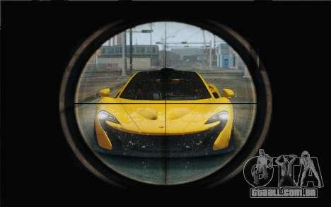 M1 Garand para GTA San Andreas terceira tela
