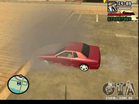 GTA V to SA: Burnout RRMS Edition para GTA San Andreas oitavo tela