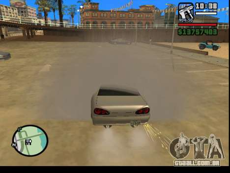 GTA V to SA: Burnout RRMS Edition para GTA San Andreas terceira tela