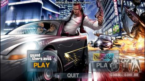 New IntroMusic LoadingScreen Menu Mega Pack v1.0 para GTA 4