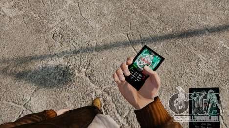Temas para celular Vampire The Masquerade para GTA 4 nono tela