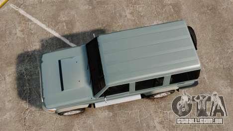 Toyota Land Cruiser 76 Wagon GXL 2010 para GTA 4 vista direita