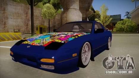 Nissan 240sx JDM style para GTA San Andreas