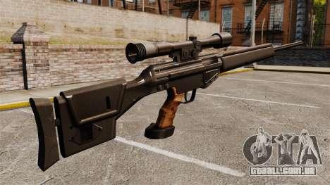 Fuzil HK PSG10 para GTA 4 segundo screenshot