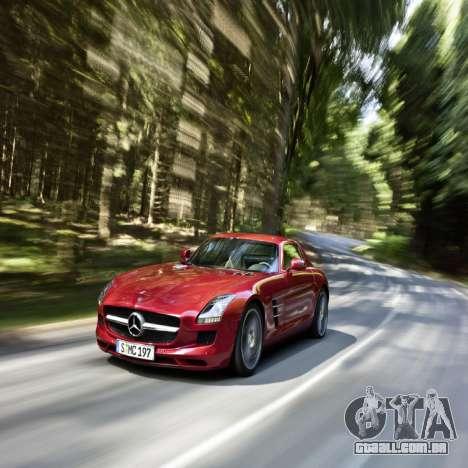 Telas de carregamento, Mercedes-Benz para GTA 4 quinto tela