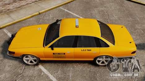 Novos CDs de táxi para GTA 4 traseira esquerda vista