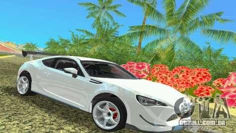 Subaru BRZ Type 4 para GTA Vice City
