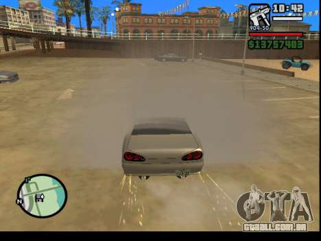 GTA V to SA: Burnout RRMS Edition para GTA San Andreas por diante tela