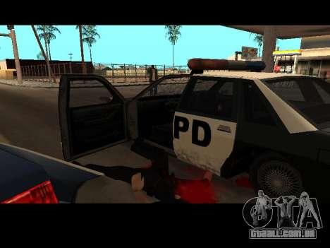 WeaponStyles para GTA San Andreas segunda tela