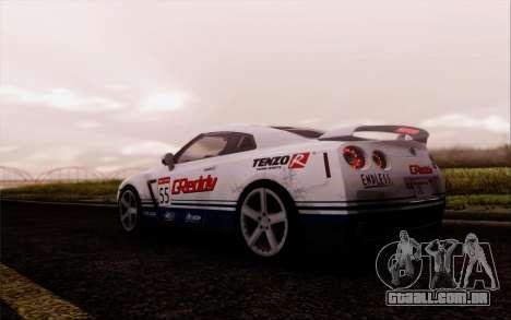 SA Illusion-S v5.0 - Final Edition para GTA San Andreas segunda tela