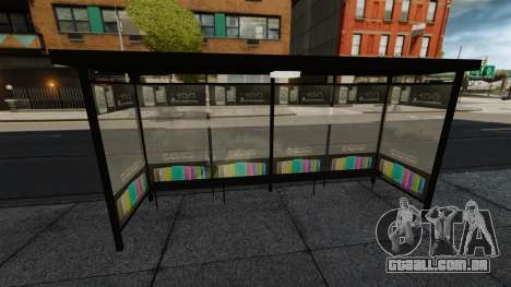 Nova publicidade nas paragens de autocarro para GTA 4 terceira tela