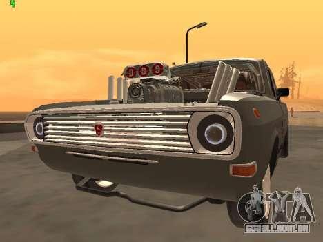 Edição de arrastar gás 24 para GTA San Andreas vista direita