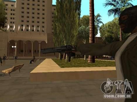 WeaponStyles para GTA San Andreas nono tela