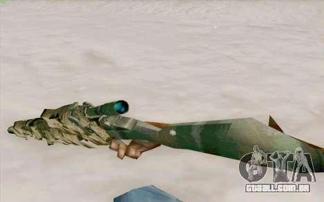 M21 para GTA San Andreas terceira tela