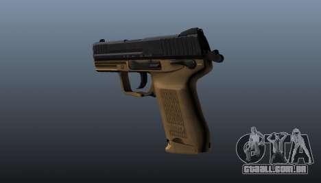 Arma HK45C v3 para GTA 4 segundo screenshot