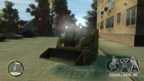 Carregador de BF3 para GTA 4 vista interior