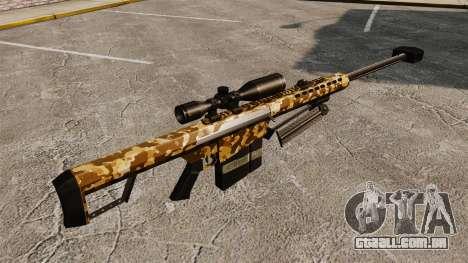O Barrett M82 sniper rifle v9 para GTA 4 segundo screenshot
