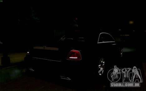 Rolls-Royce Ghost para GTA San Andreas vista superior