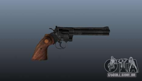 Revólver Colt Python. 357 para GTA 4 terceira tela