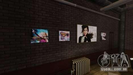 Novos posters no apartamento do Playboy X para GTA 4 por diante tela