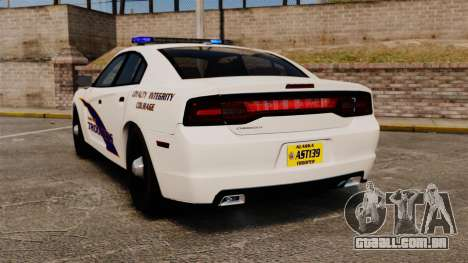 Dodge Charger 2013 AST [ELS] para GTA 4 traseira esquerda vista