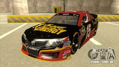 Toyota Camry NASCAR No. 15 5-hour Energy para GTA San Andreas