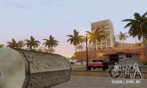 ENBSeries for low and medium PC para GTA San Andreas por diante tela