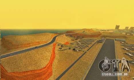 Hercules GTA V para GTA San Andreas vista direita