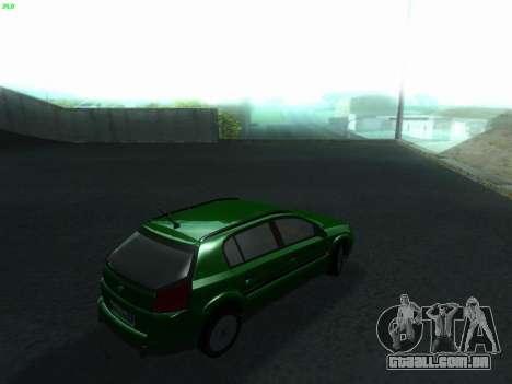Opel Signum Kombi 1.9 CDi para GTA San Andreas traseira esquerda vista