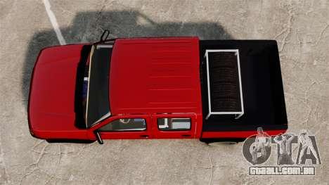 Nissan Frontier D22 para GTA 4 vista direita